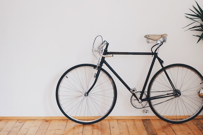 How to Stand Up a Bike Without a Kickstand