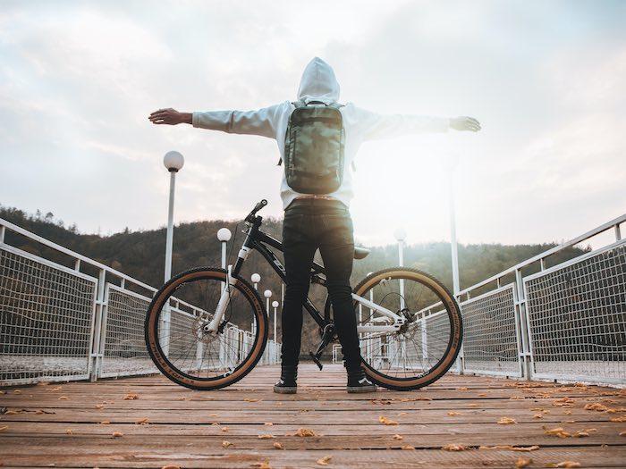 a-bike-with-a-man